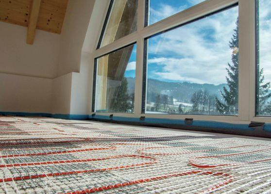 Fabulous Elektrische Fußbodenheizung unter Fliesen und Stein. UR45