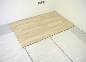 etherma laminotherm set fu bodenheizung unter parkett und laminatb den fussbodenheizung. Black Bedroom Furniture Sets. Home Design Ideas